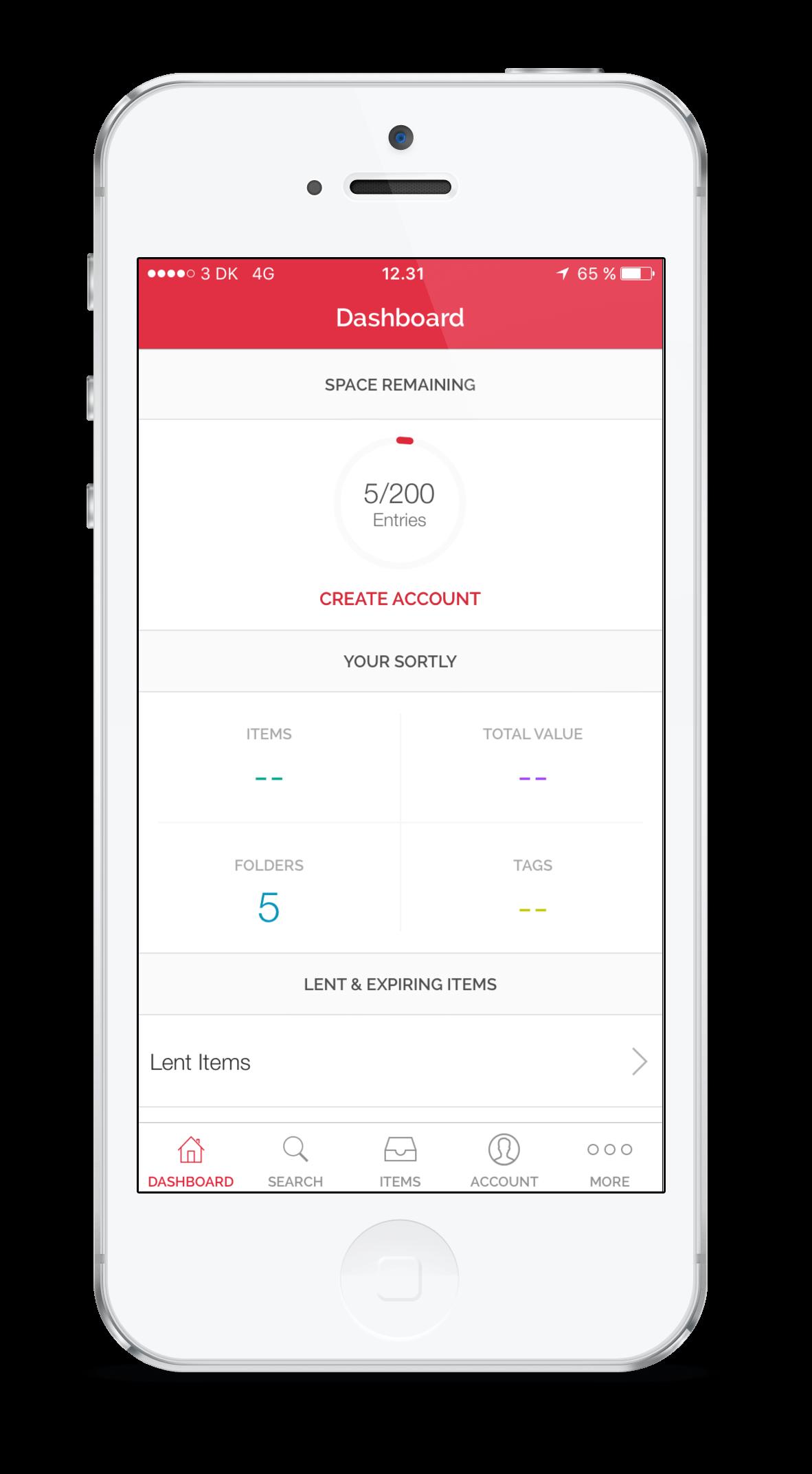 app for kvitteringer