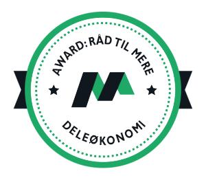 Mikonomi Award: Råd til mere deleøkonomi