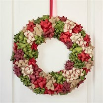 3. Bow -Wreath