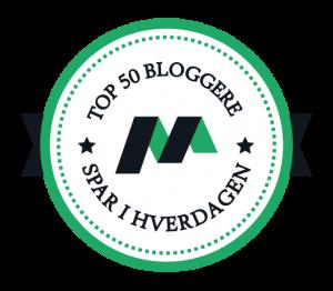 TOP 50 Bloggere – Spar i hverdagen